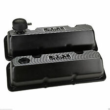 FORD RACING BLACK ALUMINUM CLEVELAND VALVE COVERS KIT BOSS 302 351C 351M 400