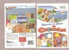 SPORTS ET JEUX EN CROISIERE ! Des Mini Jeux Hyper Fun sur  Wii/Wiiu NEUF Blister
