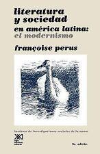 LITERATURA Y SOCIEDAD EN AMERICA LATINA (Sociologia y politica) (Spani-ExLibrary