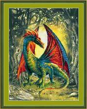 "Counted Cross Stitch Kit RIOLIS - ""Forest Dragon"""