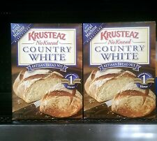 Krusteaz ~ No Knead Country White Artisan Bread Mix
