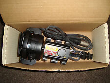 "NRG VARI-LITE ""Pro Video Camera Light & Perpetual Power Belt, Cord New"