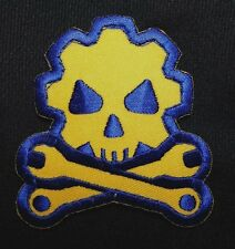 DEATH MECHANIC MORALE TACTICAL MILITARY BADGE USA ARMY FULL COLOR VELCRO PATCH