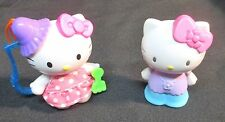 McDonald Hello Kitty Doll Key Chain & Hello Kitty Doll Figurine Sanrio 1976/2000