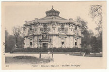 CARTE POSTALE PARIS  CHAMPS ELYSEES THEATRE MARIGNY