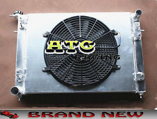 3 Core Aluminum Radiator + Shroud + Fan for Holden Commodore VN VG VP VR VS V6