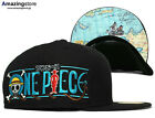 NEW ERA 59FIFTY ONE PIECE X WITH MAP 59FIFTY FITTED CAP blue