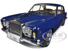 1968 ROLLS ROYCE SILVER SHADOWS BLUE THOMAS CROWN AFFAIRS 1/18 BY PARAGON 98203