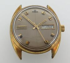 Vintage Jaeger Le Coultre Club Mens Day Date Automatic Watch NO RESERVE