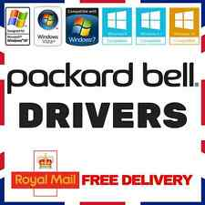 PACKARD BELL LAPTOP & PC DRIVERS RECOVERY RESTORE FIX REPAIR WINDOWS XP/7/8/10