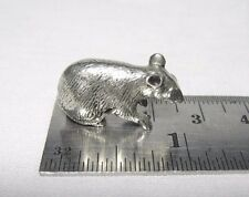 Tiny Miniature Pewter Rat Mouse Mice Figurine FREE SHIPPING