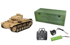 RC Panzer Tauchpanzer III R&S/2.4GHZ/ AMEWI QC Control Edition 23064