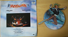 EX/EX MARILLION FREAKS (LIVE) b/w KAYLEIGH (LIVE) Vinyl Shaped Picture Disc