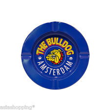 ★POSACENERE IN METALLO THE BULLDOG TIN ASHTRAY BLU BULP0S005★