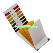 4×80 pH 1-14 Universal Full Range Litmus Test Paper Strip Tester Indicator Urine