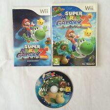Super Mario Galaxy 2 Nintendo Wii PAL COMPLETE