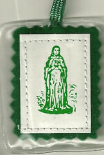 Green Scapular - Our Lady of Mount Carmel