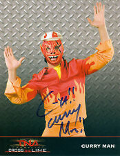 CURRY MAN TNA SIGNED AUTOGRAPH 8X10 PROMO W/ PROOF