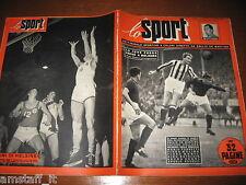 LO SPORT 1952/18=JOHN HANSEN=JUVENTUS=BASKET ITALIA=RENATO GEI=