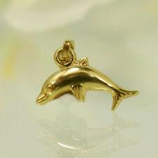 """Anhänger """"Delfin"""" in 333/- 8k. Gelbgold"""