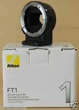 New Nikon FT1 F-Mount Adapter FT-1 for Nikon V1 and J1 Cameras from Japan