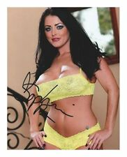 SOPHIE DEE AUTOGRAPHED SIGNED A4 PP POSTER PHOTO