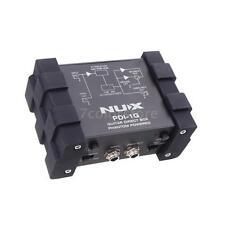 NUX PDI-1G Bass Guitar DI Direct Injection Box Audio Mixer Para Out 4RN6