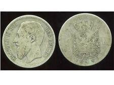 BELGIQUE 2 francs 1866 ( des belges )  argent   ( 2 )