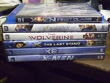 (6) X-Men Blu-Ray/DVD Lot: X-Men 1, 2 + Last Stand 1st Class Wolverine Days NEW