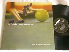 LONDON ALL STAR British Percussion JIMMY PAGE John McLaughlin Ronnie Verrell LP