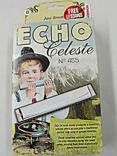 NEW HOHNER ECHO CELESTE TREMOLO HARMONICA IN KEY OF B WITH FREE SHIPPING