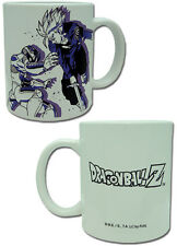 Dragonball Z Metal Freeza and Trunks Coffee Mug Cup Anime Manga NEW