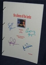 Movie/Film Script - Cast Signed - Silence Of The Lambs