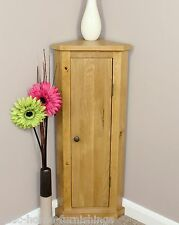 Solid Oak Corner Telephone Cabinet Storage Unit  Plant Stand 100% Solid Oak