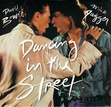 DAVID BOWIE MICK JAGGER Dancing In The Street 45 with PicSleeve  ROLLING STONES