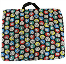 BINGO SEAT COVER; SINGLE CLOTH CUSHION WITH BINGO BALL PRINT
