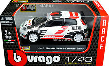 FIAT PUNTO ABARTH GRANDE S2000 1:43 Car NEW Model Diecast Models Cars Die Cast
