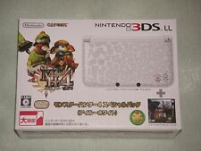 Nintendo 3DS LL Console System Monster Hunter 4 Special Pack AIROU WHITE JAPAN