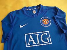 4.8/5 MANCHESTER UNITED ENGLAND 2008 2009 ORIGINAL SOCCER THIRD JERSEY SHIRT