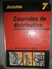 livre calage courroie de distribution 1989 à 2002 AUTODATA 7