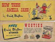WEETIES AUSTRALIA CEREAL GIVEAWAY PROMO ENID BLYTON NOW THEN AMELIA JANE COMIC V