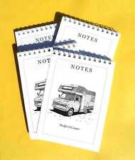 Bedford Camper pack of 4 Small A6 Note Pads Gift Set