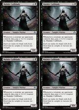 4x MALAKIR CULLBLADE Magic Origins MTG Black Creature — Vampire Warrior Unc