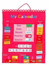 Fiesta Crafts My Calendar Pink Wall Hanging
