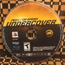 Need for Speed: Undercover (Sony PlayStation 3, 2008) USED (DISC ONLY) #10423