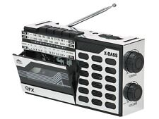 QFX J-7 Retro AM/FM/SW(shortwave) Radio Portable Cassette Player/Recorder