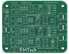 NEW ! Linkwitz-Riley 3-way active filter by KMTech PCB DIY v1.1