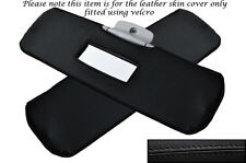 BLACK STITCHING FITS SMART FORTWO 450 98-07 2X SUN VISORS SKIN COVERS