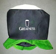 COIFFE CHAPEAU BIERE IRLANDAISE BEER BIER GREATNESS GUINNESS ST PATRICK'S DAY