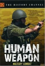 HUMAN WEAPON: MILITARY COMBAT ( HISTORY CHANNEL ) NEW AND SEALED